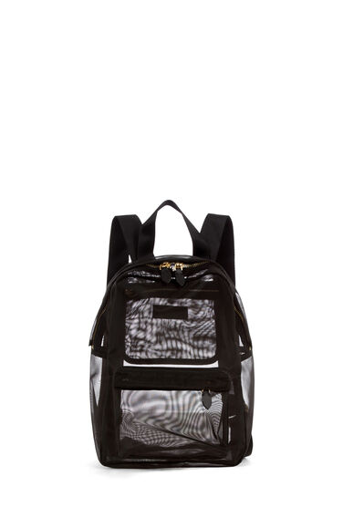 Warehouse, MESH RUCKSACK Black 0