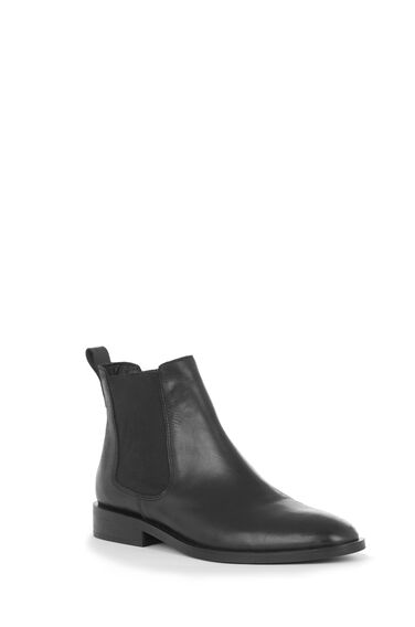 Warehouse, CHELSEA ANKLE BOOT Black 0