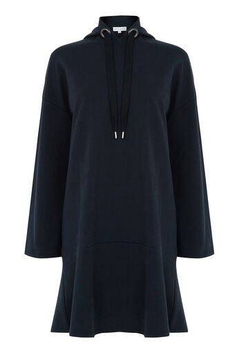 Warehouse, HOODIE DRESS Midnight 0