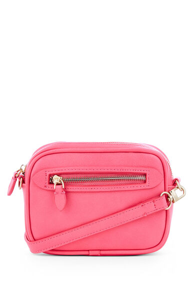 Warehouse, DISCO CROSS BODY BAG Fuchsia 0