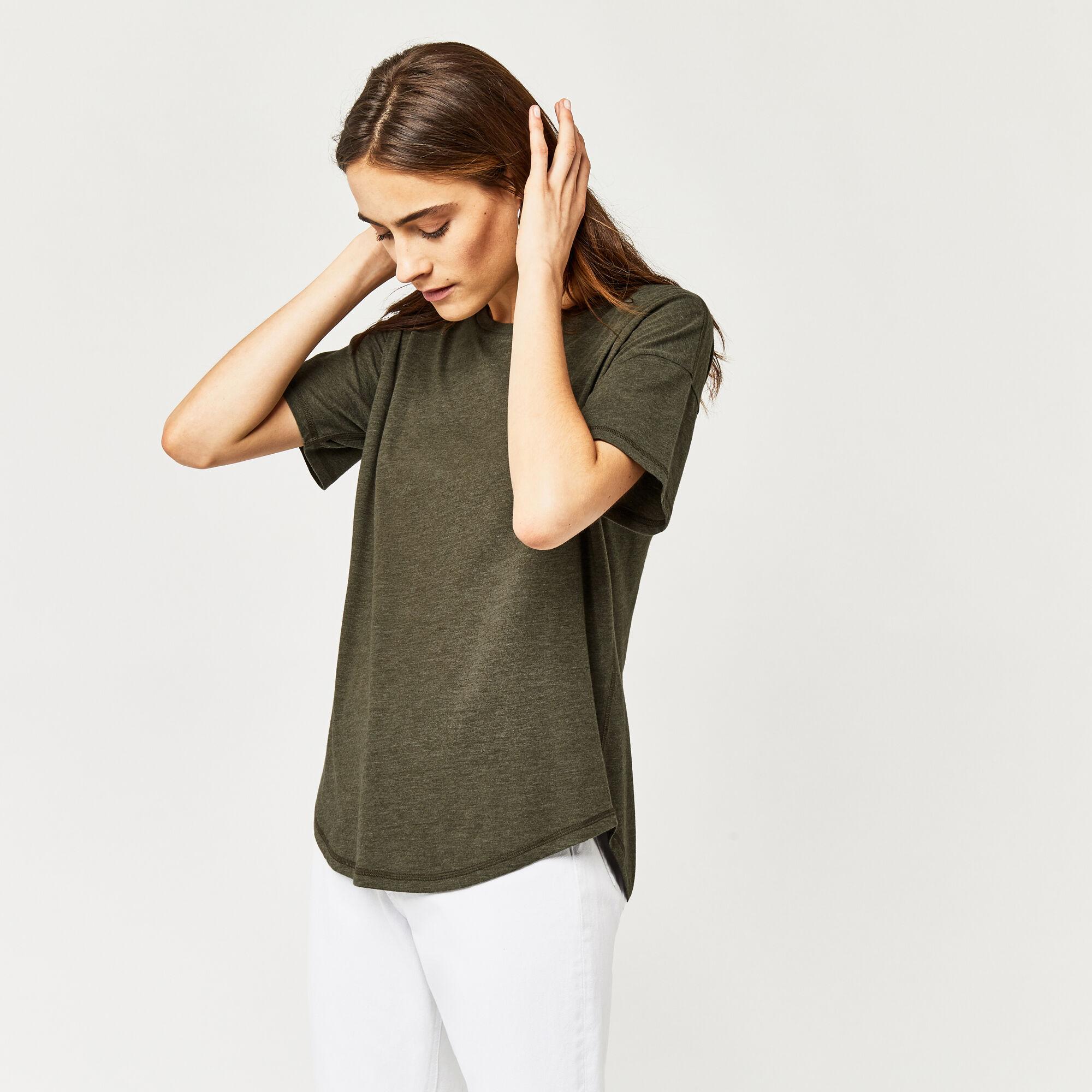 Warehouse, Casual T-shirt Kaki 1