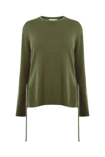Warehouse, TIE SIDE JUMPER Khaki 0