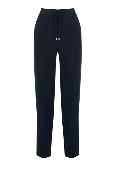 Warehouse, CREPE JOGGER Navy 0