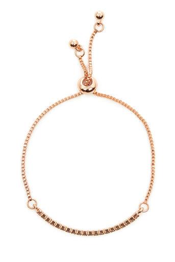 Warehouse, Bracelet barre en cristal Rose doré 0