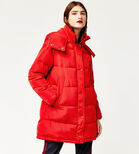 Warehouse, Padded Bubble Coat Bright Red 3