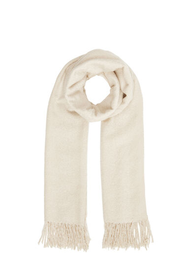 Warehouse, Boucle Scarf Cream 0