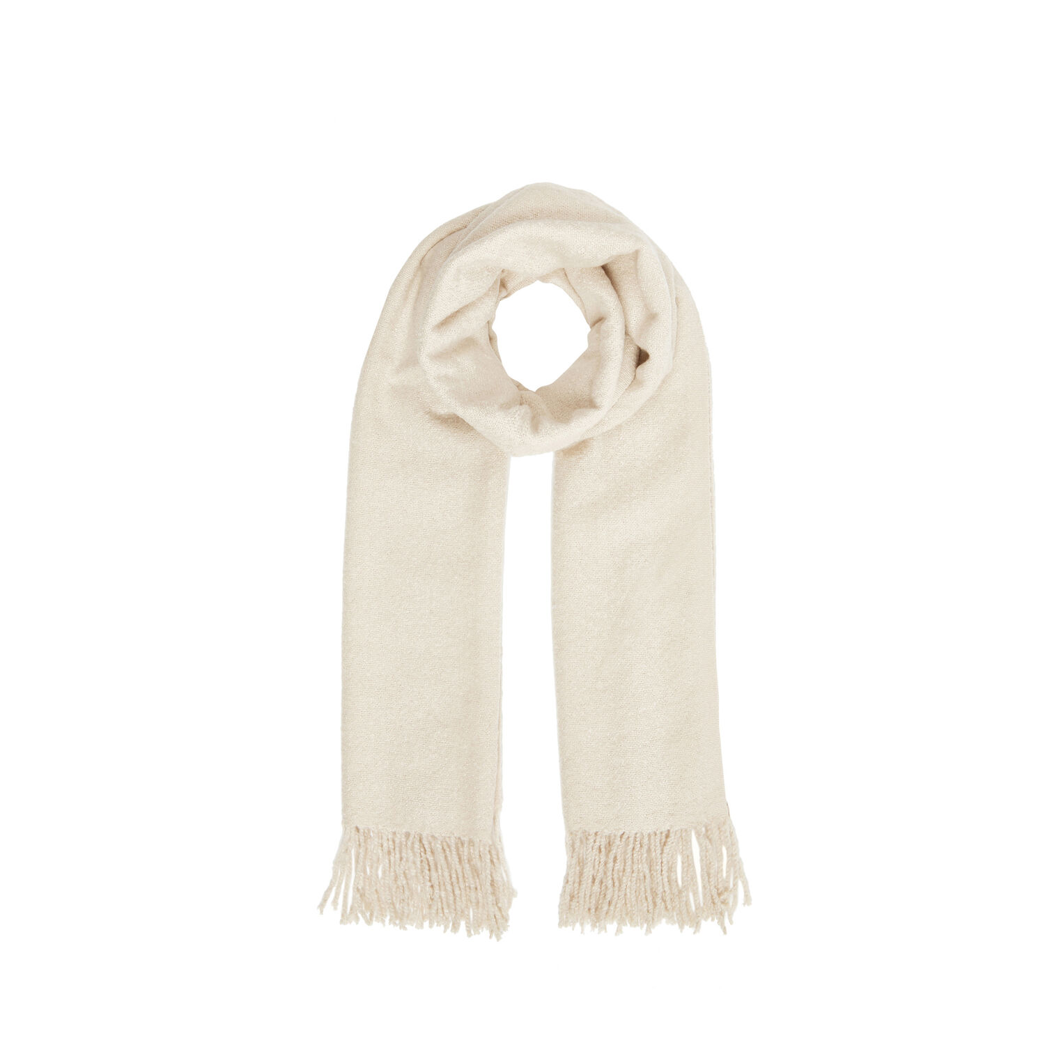 Warehouse, Boucle Scarf Cream 1