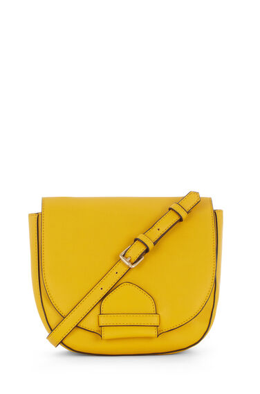 Warehouse, KEEPER SADDLE CROSS BODY BAG Yellow 0
