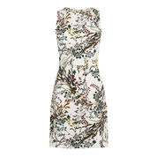 Warehouse, MEADOW FLORAL TEXTURED DRESS Multi 0
