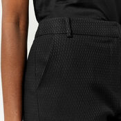 Warehouse, TEXTURED SLIM LEG TROUSER Black 4