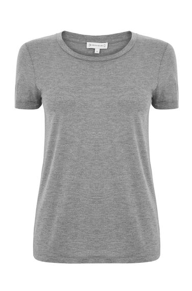 Warehouse, SMART T-SHIRT Light Grey 0