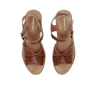 Warehouse, Criss Cross Clog Tan 3