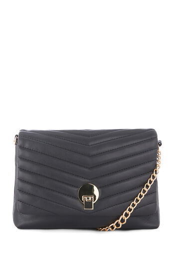 Warehouse, QUILTED CROSSBODY BAG Black 0