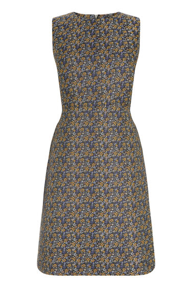 Warehouse, DAISY JACQUARD DRESS Multi 0