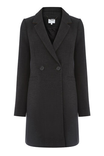 Warehouse, Clean Crombie Dark Grey 0