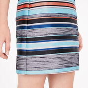 Warehouse, STRIPE JACQUARD SKIRT Multi 4