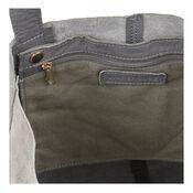 Warehouse, Leather Unlined Shopper Bag Light Grey 4