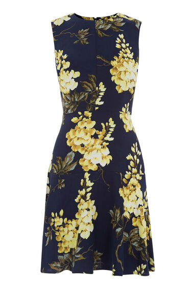 Warehouse, WISTERIA PRINT DRESS Multi 0