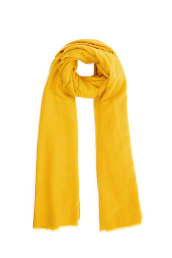 Warehouse, LARGE WRAP SCARF Mustard 0