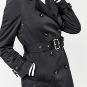 Warehouse, Classic Trench Black 4