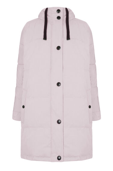 Warehouse, Oversized Padded Coat Light Pink 0