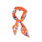 Warehouse, FLOATING FLORAL  NECKERCHIEF Red Pattern 1