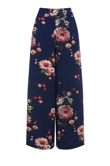 Warehouse, PAINTED FLORAL CULOTTE Multi 0