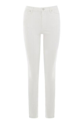 Warehouse, De krachtige skinny jeans Wit 0