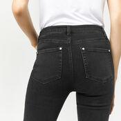 Warehouse, Powerhold Skinny Cut Jeans. Black 4