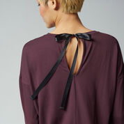 Warehouse, TIE BACK TOP Berry 4