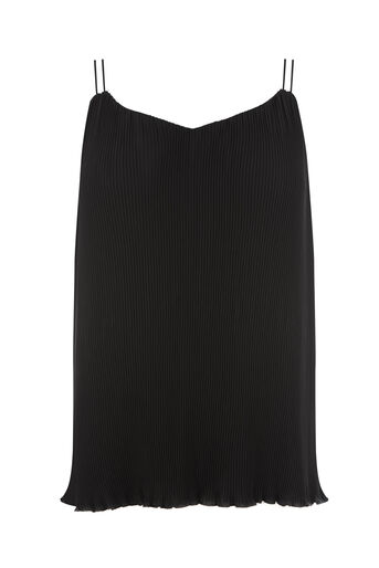 Warehouse, PLISSE CAMI Black 0