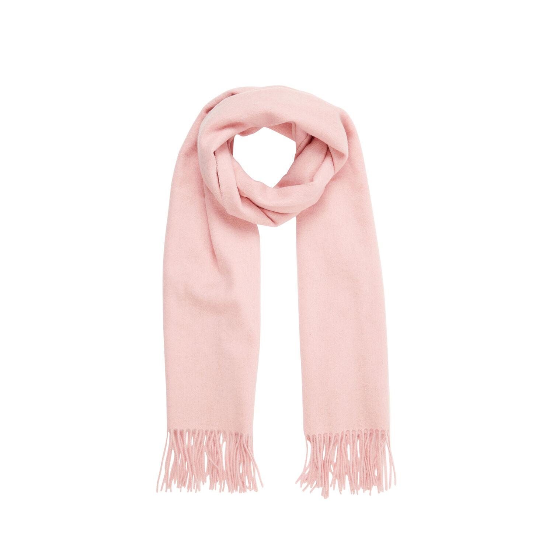 Warehouse, Wool Scarf Light Pink 1