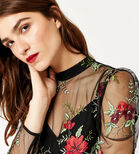 Warehouse, FLORAL EMBROIDERED TOP Multi 4