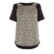 Warehouse, Geo Cable Woven Front Top Multi 0