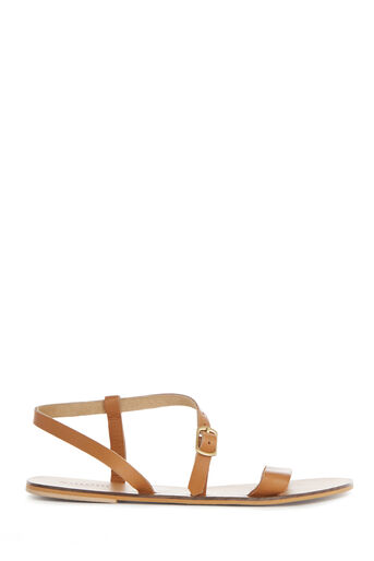 Warehouse, ASYMMETRIC STRAPPY SANDAL Tan 0