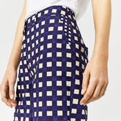 Warehouse, CROPPED GINGHAM TROUSER Multi 4