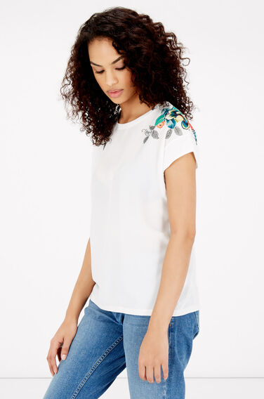 Warehouse, BOTANICAL FLORAL TEE Multi 0