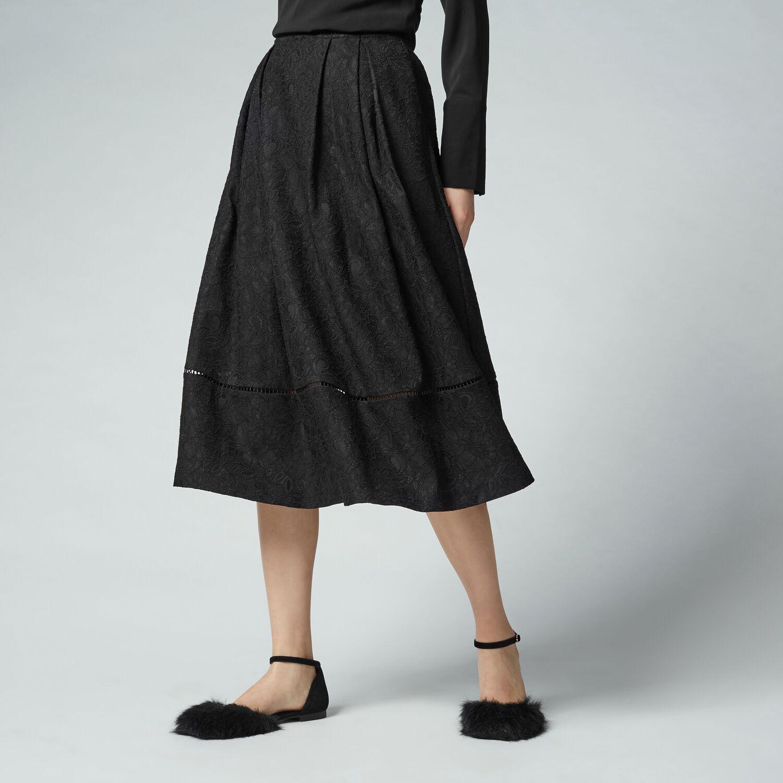 lace midi skirt warehouse