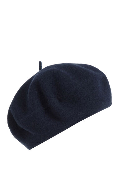 Warehouse, Beret Hat Navy 0