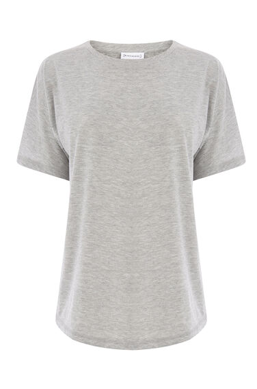 Warehouse, CASUAL TEE Light Grey 0