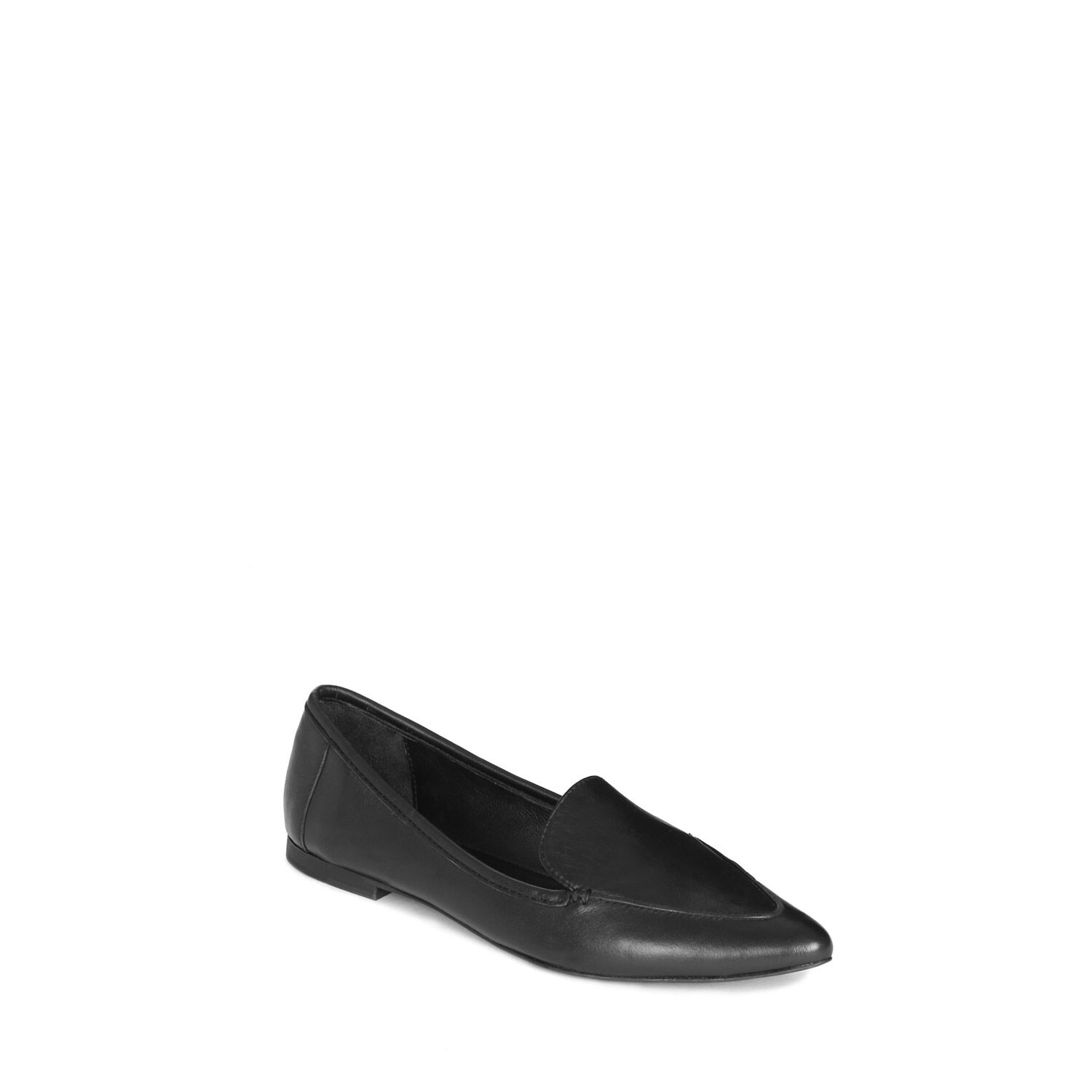 Warehouse, Pointed Loafer Black 1