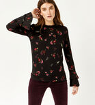 Warehouse, SNOWDROP FLORAL PRINT TOP Multi 1
