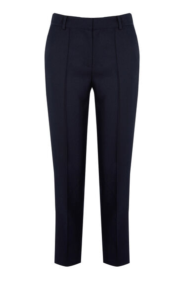 Warehouse, STITCH SEAM TROUSER Navy 0
