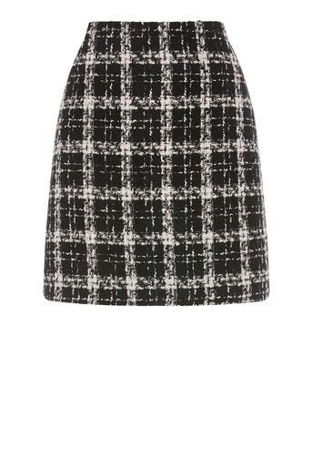 Warehouse, TWEED CHECK SKIRT Multi 0