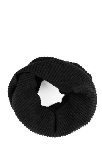 Warehouse, RIBBED SNOOD Black 0