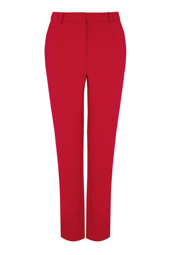 Warehouse, SLIM LEG TROUSER Bright Red 0
