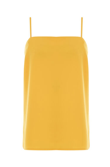 Warehouse, SQUARE NECK CAMI Yellow 0