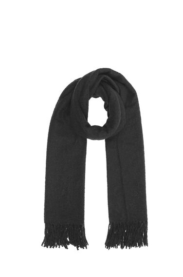 Warehouse, Boucle Scarf Black 0