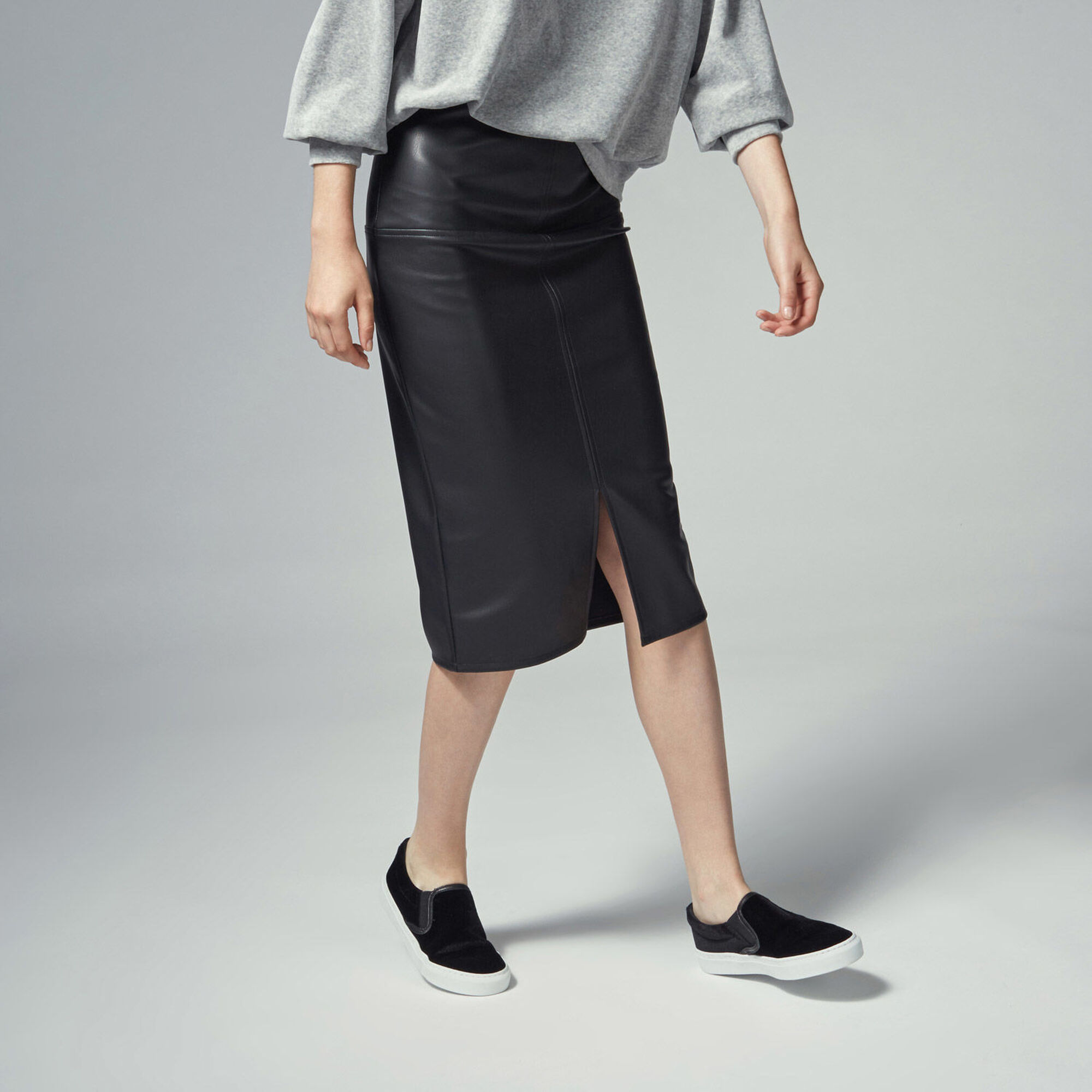 Find black leather pencil skirt at ShopStyle. Shop the latest collection of black leather pencil skirt from the most popular stores - all in one.