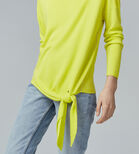 Warehouse, TIE FRONT JUMPER Yellow 4